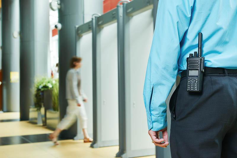 Foot patrol security service in Los Angeles