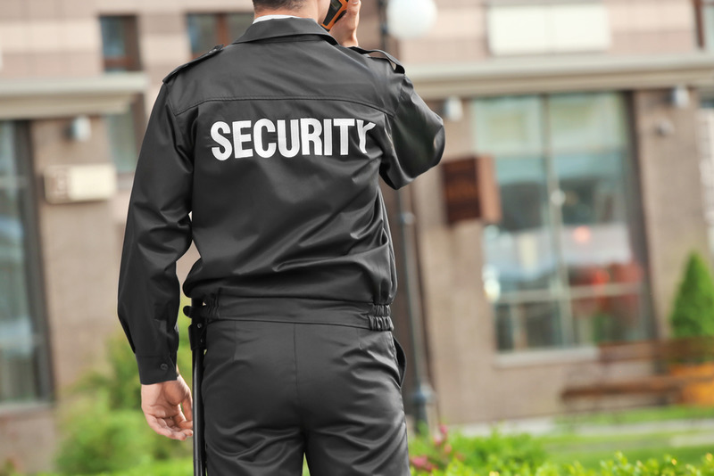 a security guard in los angeles