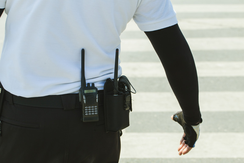 foot patrol security in Riverside