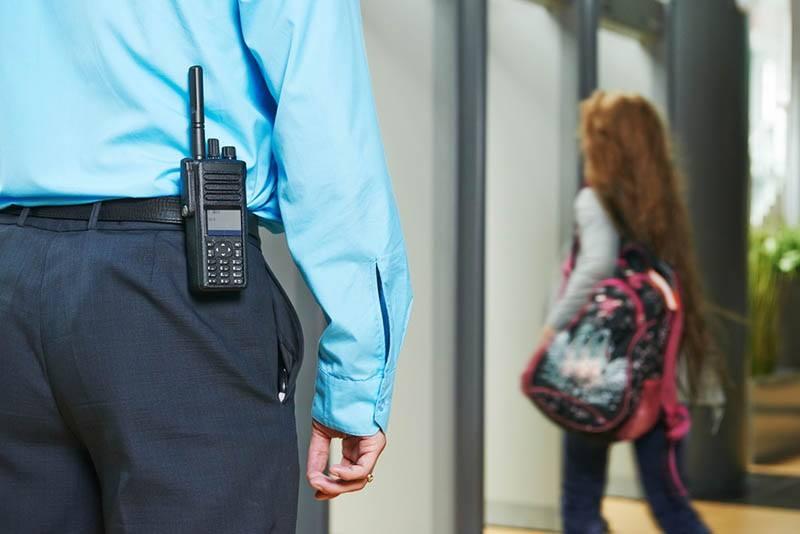 foot patrol security in Los Angeles
